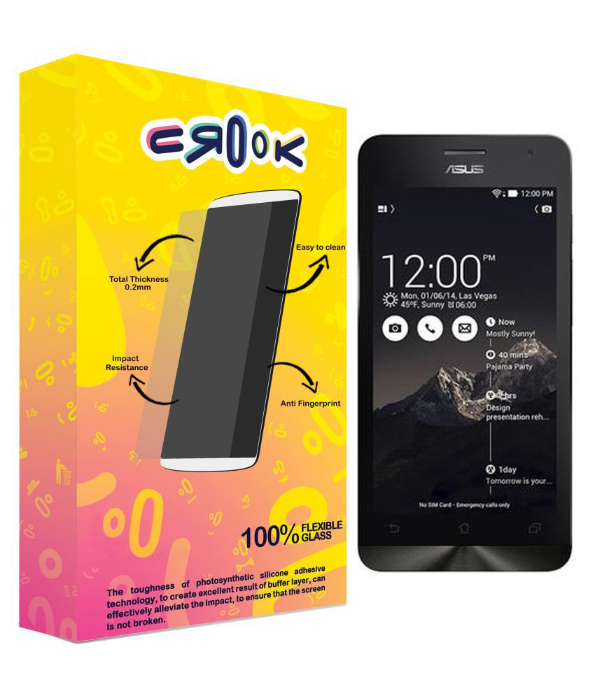 Asus Zenfone 5 Tempered Glass Screen Guard By Crook