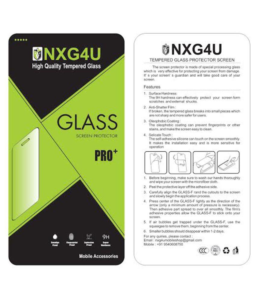 Gionee F103 Pro Tempered Glass Screen Guard By NXG4U