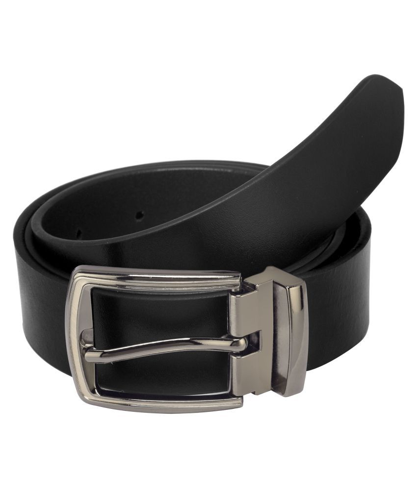 75684a24486f9 Laurels Black Leather Formal Belt: Buy Online at Low Price in India -  Snapdeal