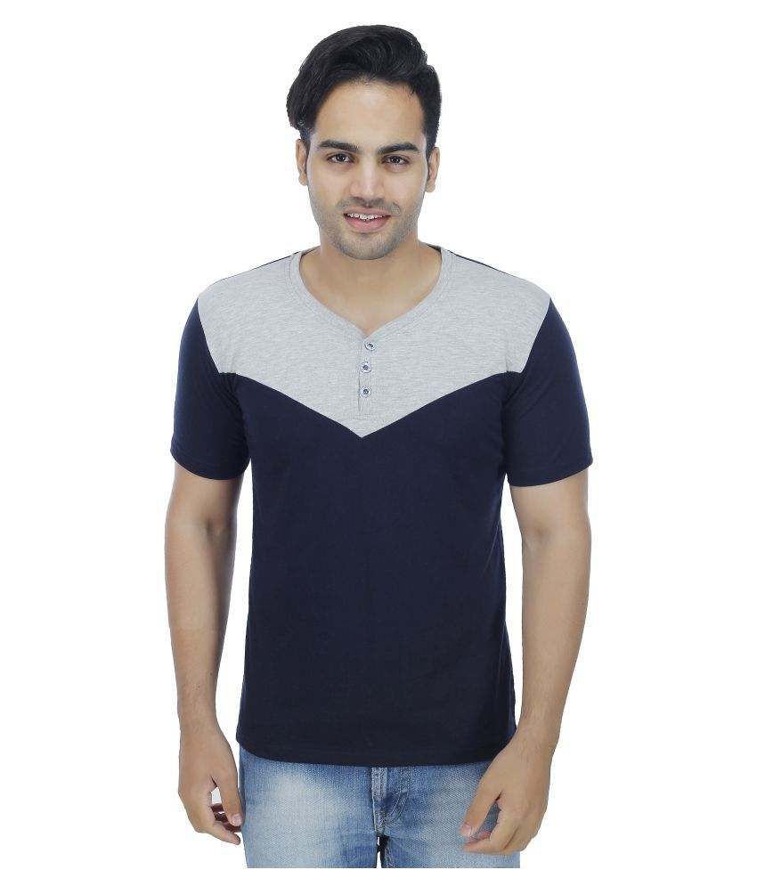 Christy's Collection Navy V-Neck T-Shirt