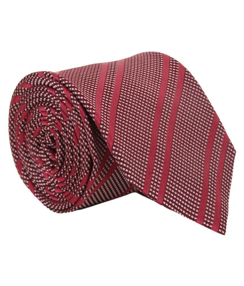 Alvaro Castagnino Maroon Party Necktie