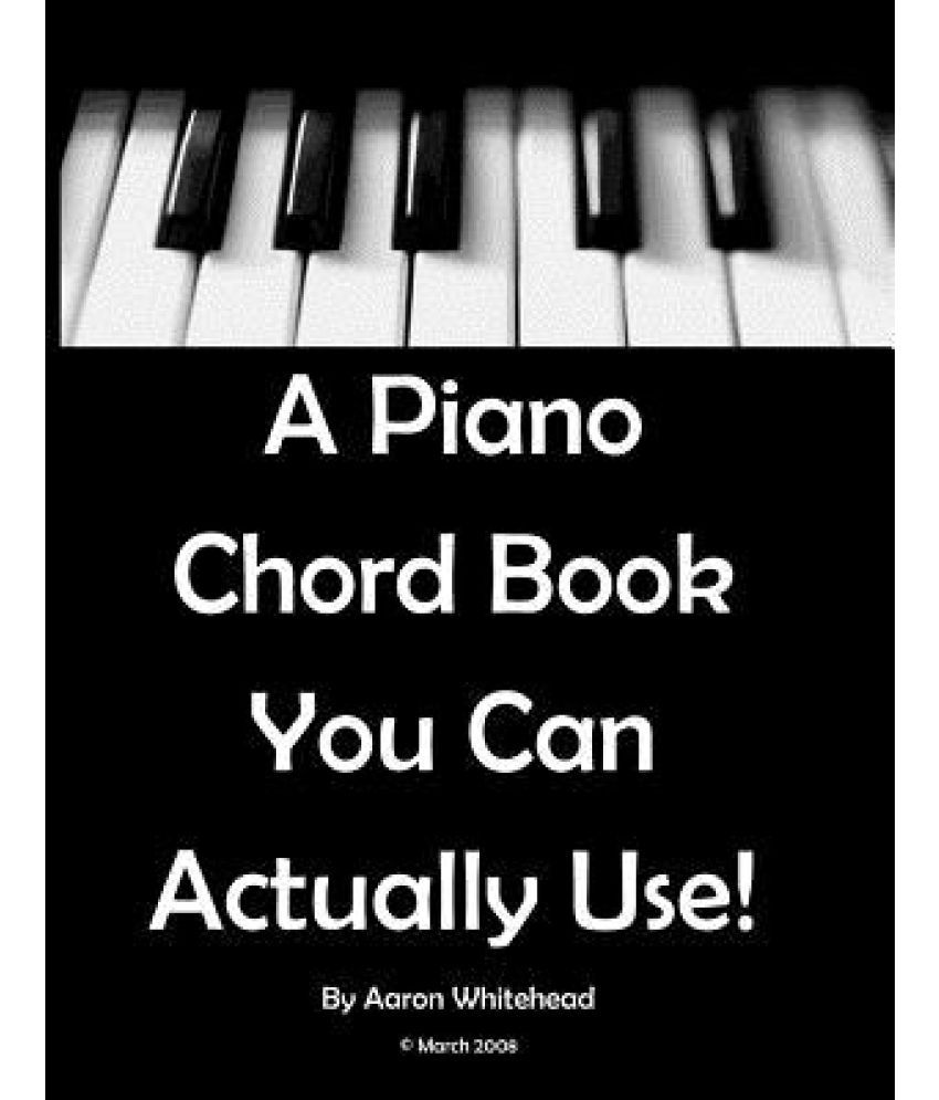 A piano chord book you can actually use buy a piano chord book a piano chord book you can actually use hexwebz Images
