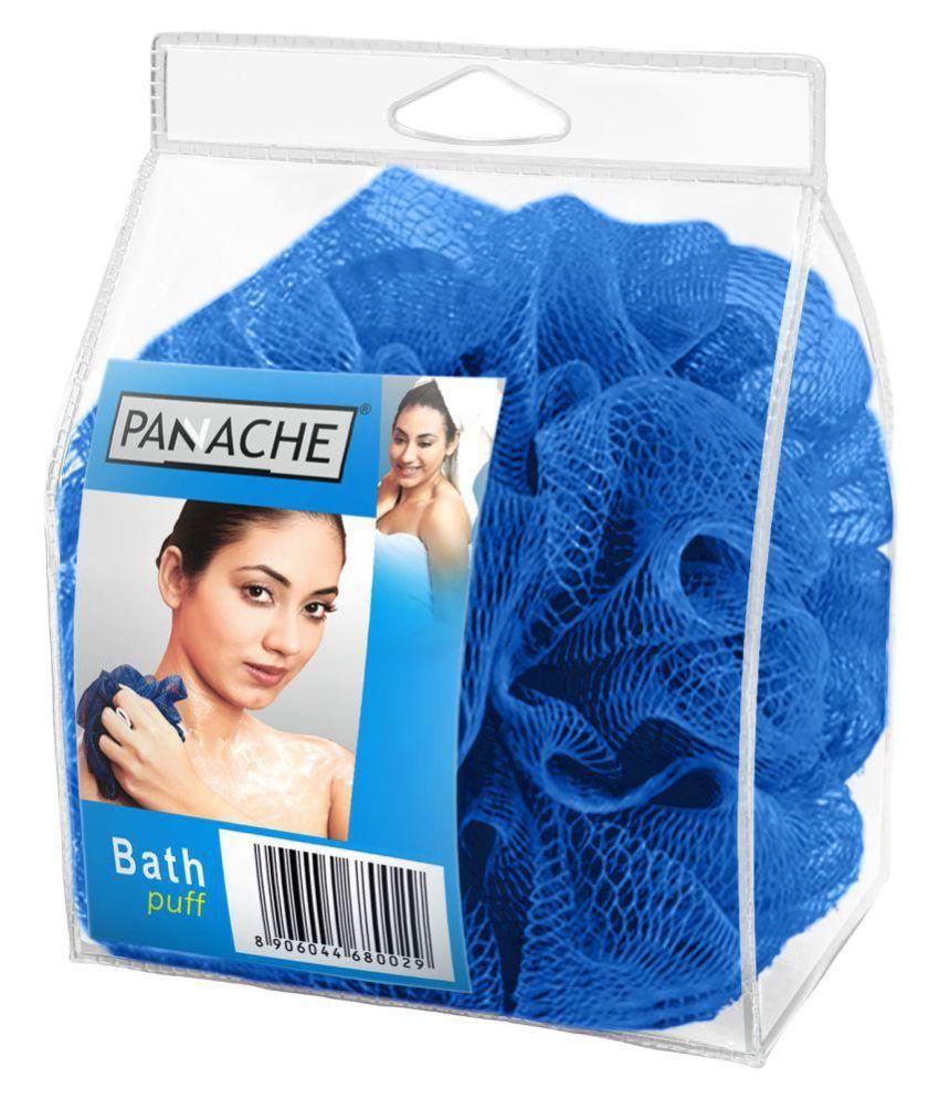 Panache Bath Loofah,Electric Blue Loofah Blue
