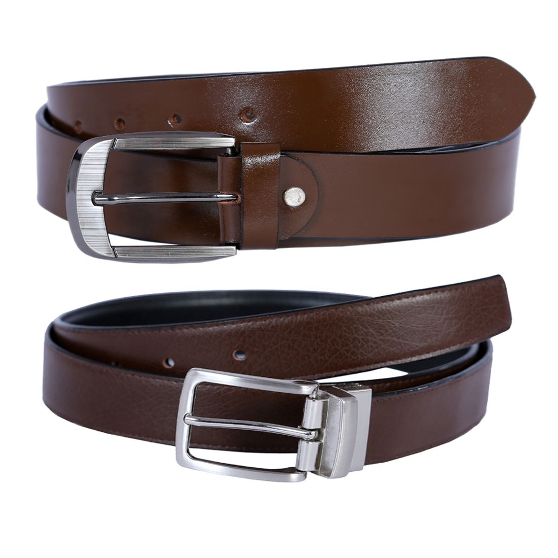 Hardys Collection Brown Leather Formal Belts