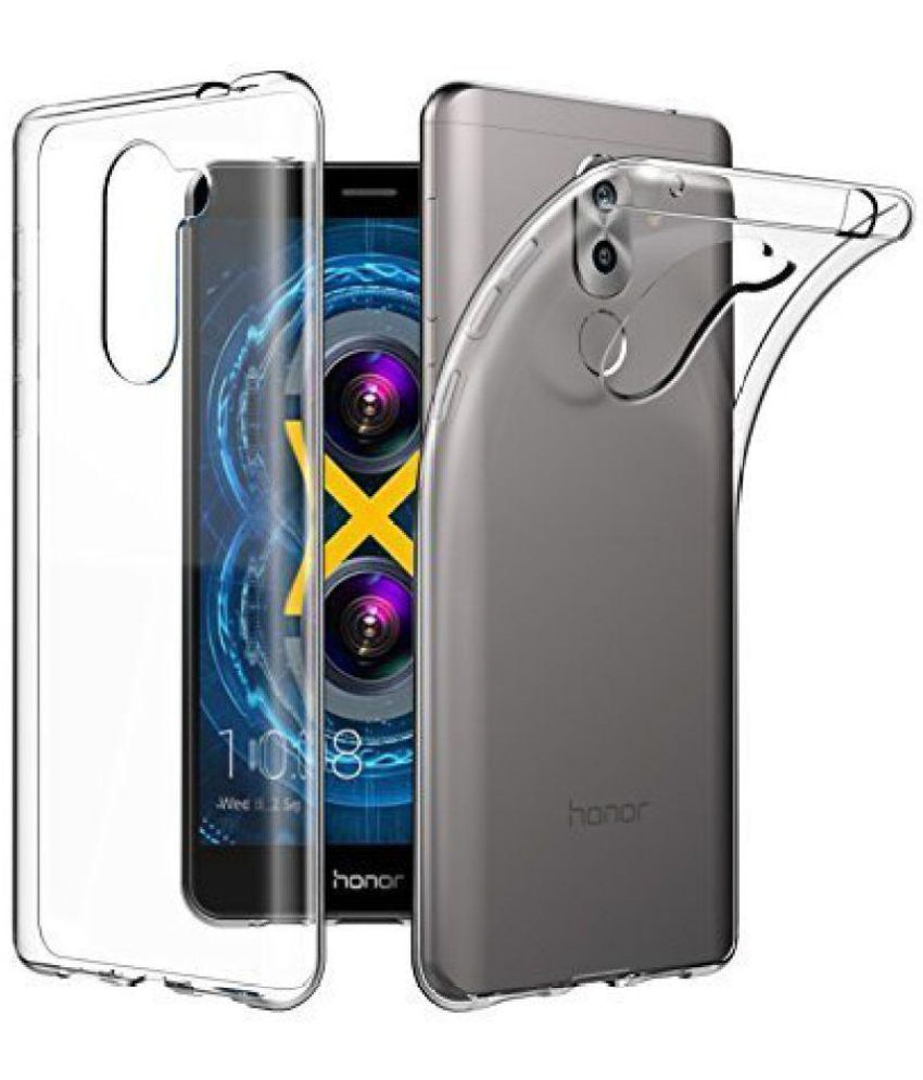 negozio online f4856 27fc9 Huawei Honor 6X Soft Silicon Cases Aw Mart - Transparent