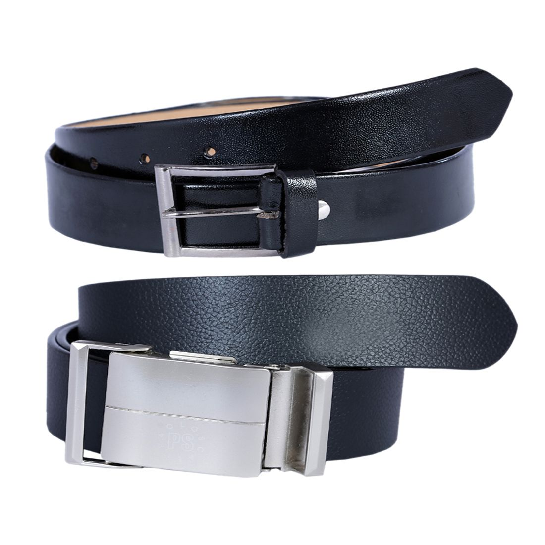 Kritika's World Black Leather Formal Belts