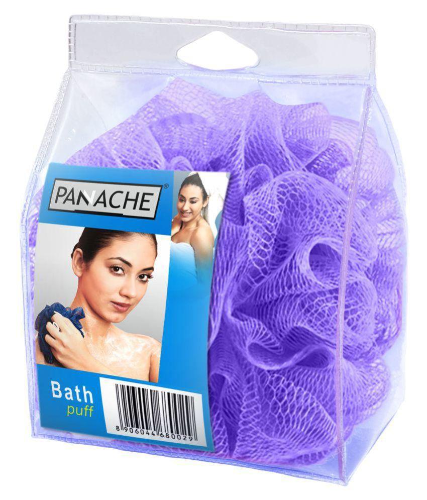 Panache Bath Loofah,Lilac Purple Loofah Purple