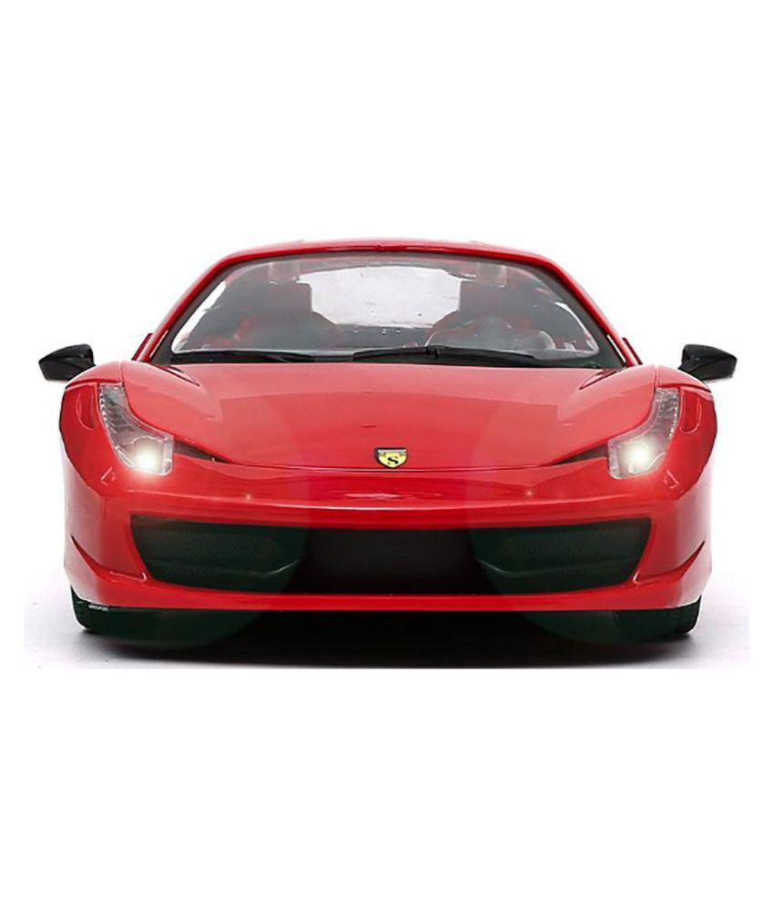 Red Ferrari: Jack Royal Red Ferrari Remote Control Toy Car