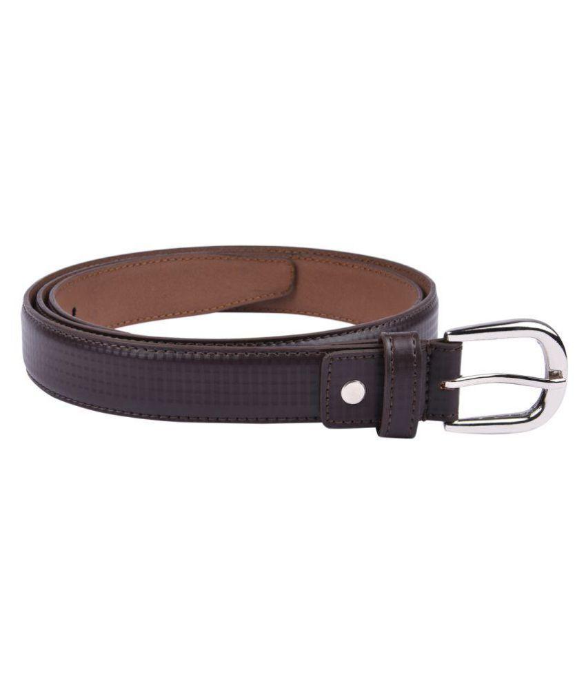 B&W Brown Leather Formal Belts