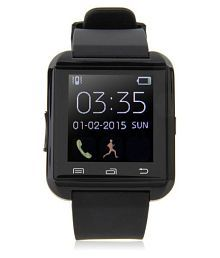 Mobilefit  Aqua N8 Smart Watches Black