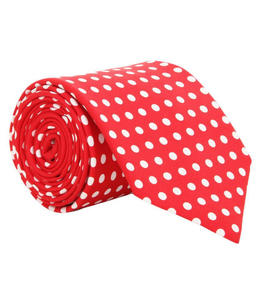 Alvaro Castagnino Red Party Necktie