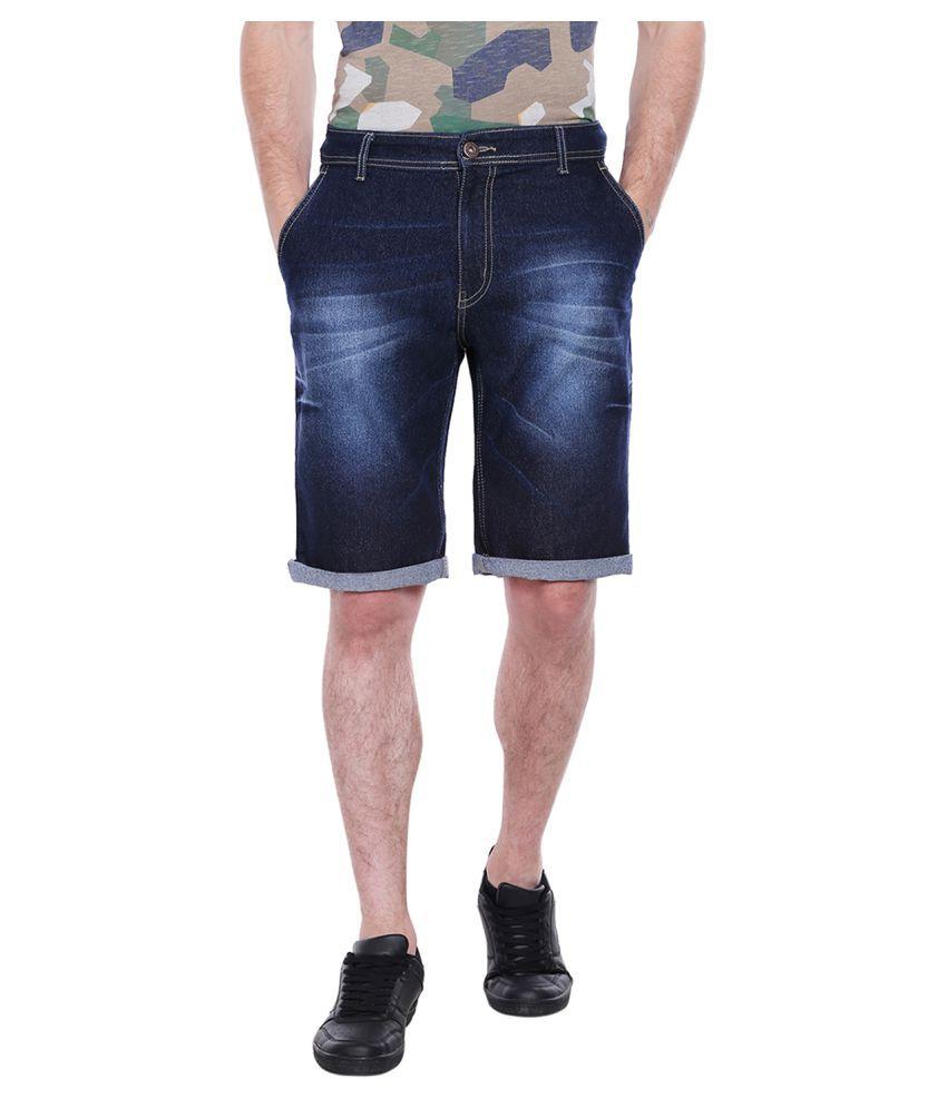 High Star Blue Shorts