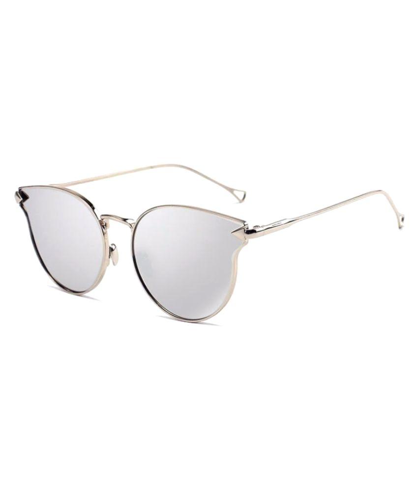 silver aviator glasses tlw5  Mark Miller Silver Aviator Sunglasses  2200-s