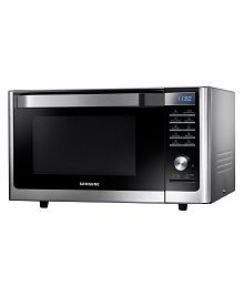 Samsung 32 Ltrs MC32F605TCT Convection Microwave Oven Black