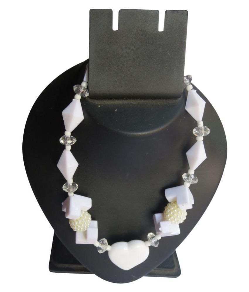 DCS White Necklace