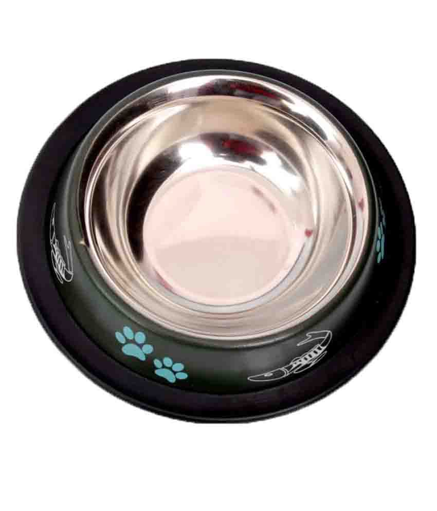 Pet Club51 Stainless Steel Feeding Bowl
