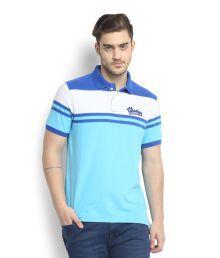 Peter England Blue T-shirt