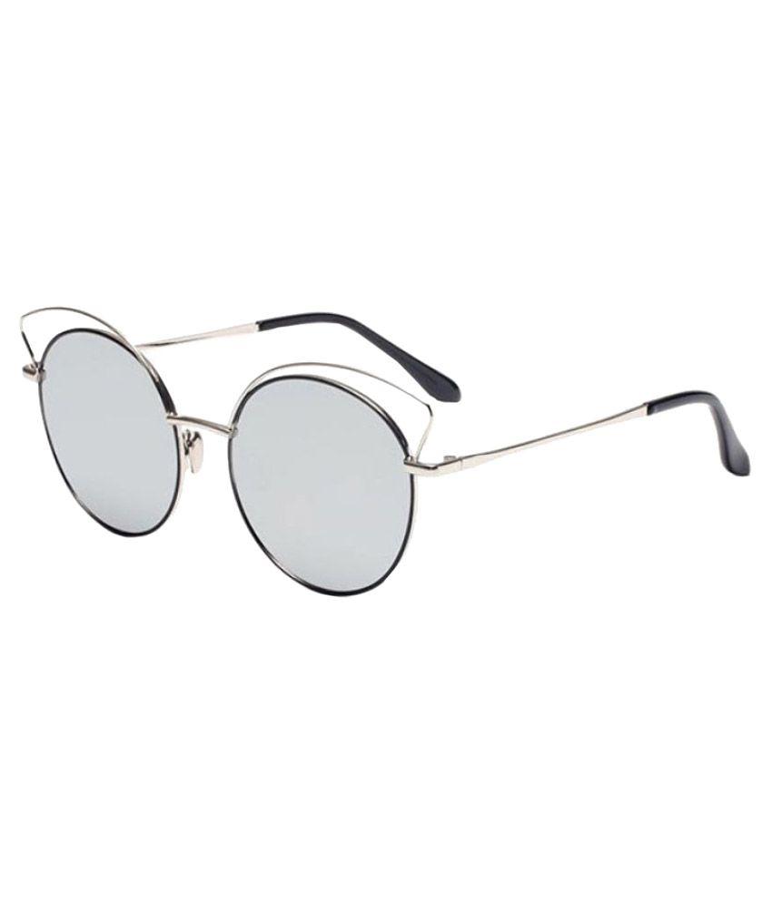 Mark Miller Silver Round Sunglasses ( 3600S )
