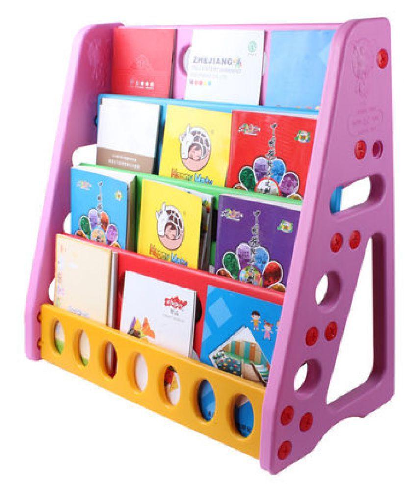 Happy Kids Plastic Bookshelf