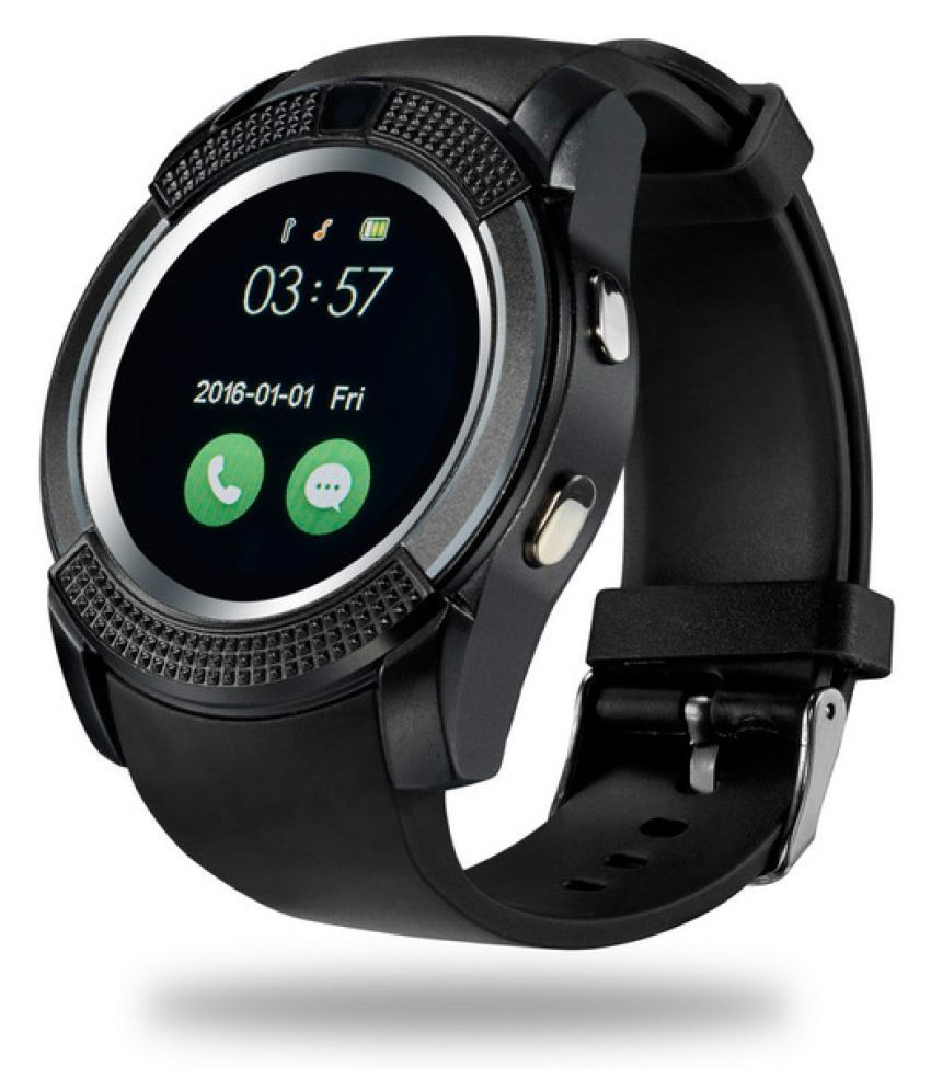 Life Like V8 Smart Watches Black Snapdeal Rs. 1599.00