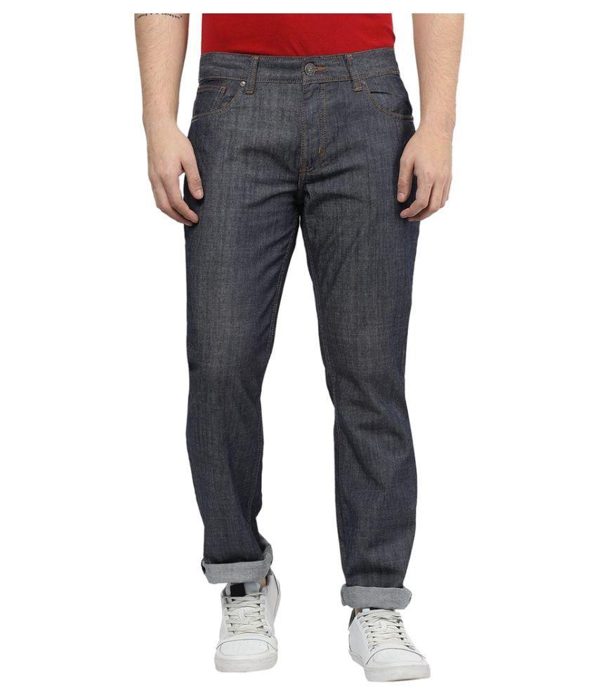 CR8 Black Straight Jeans