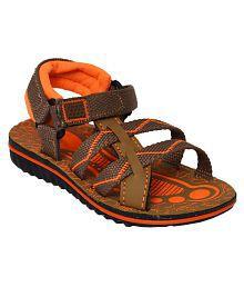 Bunnies Footwear Brown Bunnies Floaters Sandal for Kids