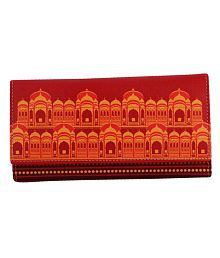 Mad(e) In India Multi Faux Leather Clutch