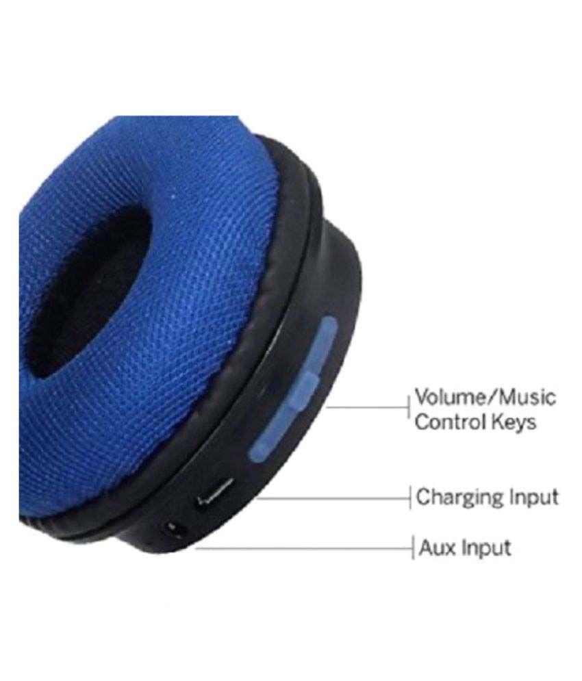 5e75a58f815 boAt Rockerz 400 On Ear Wireless Bluetooth Headphone Blue - Buy boAt ...
