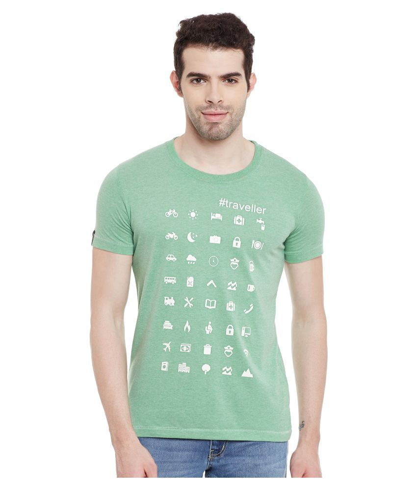 Duke Green Round T-Shirt