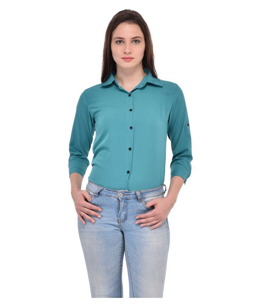 Fashion Bee Poly Crepe Shirt