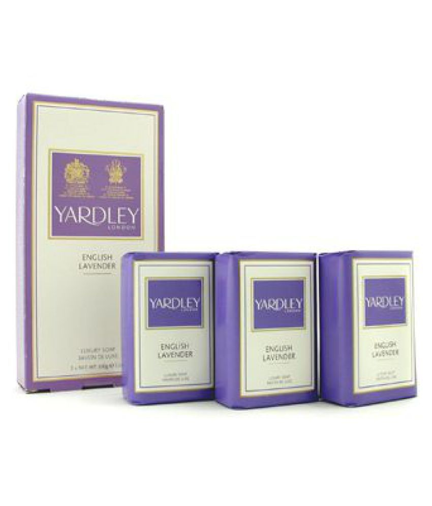 Yardley English Lavender Luxury Soap Soap 300 Gm  available at snapdeal for Rs.9999
