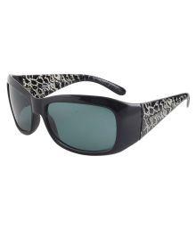 Polaroid Blue Rectangle Sunglasses ( P807-a )