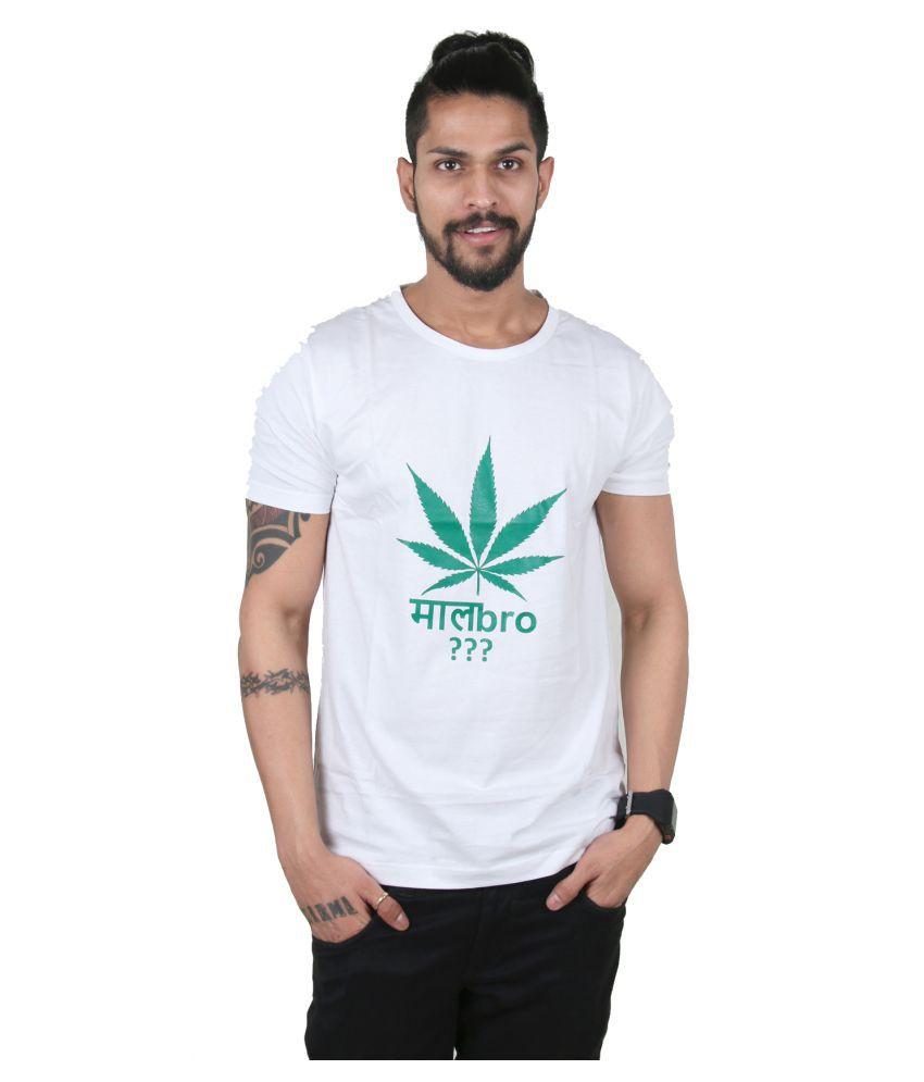 Ditto White Round T-Shirt