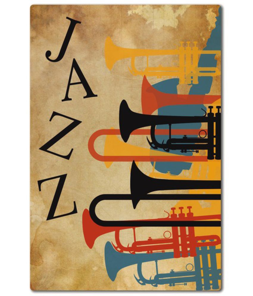 My Own Jazz Wood Photo Wall Poster Without Frame Single Piece