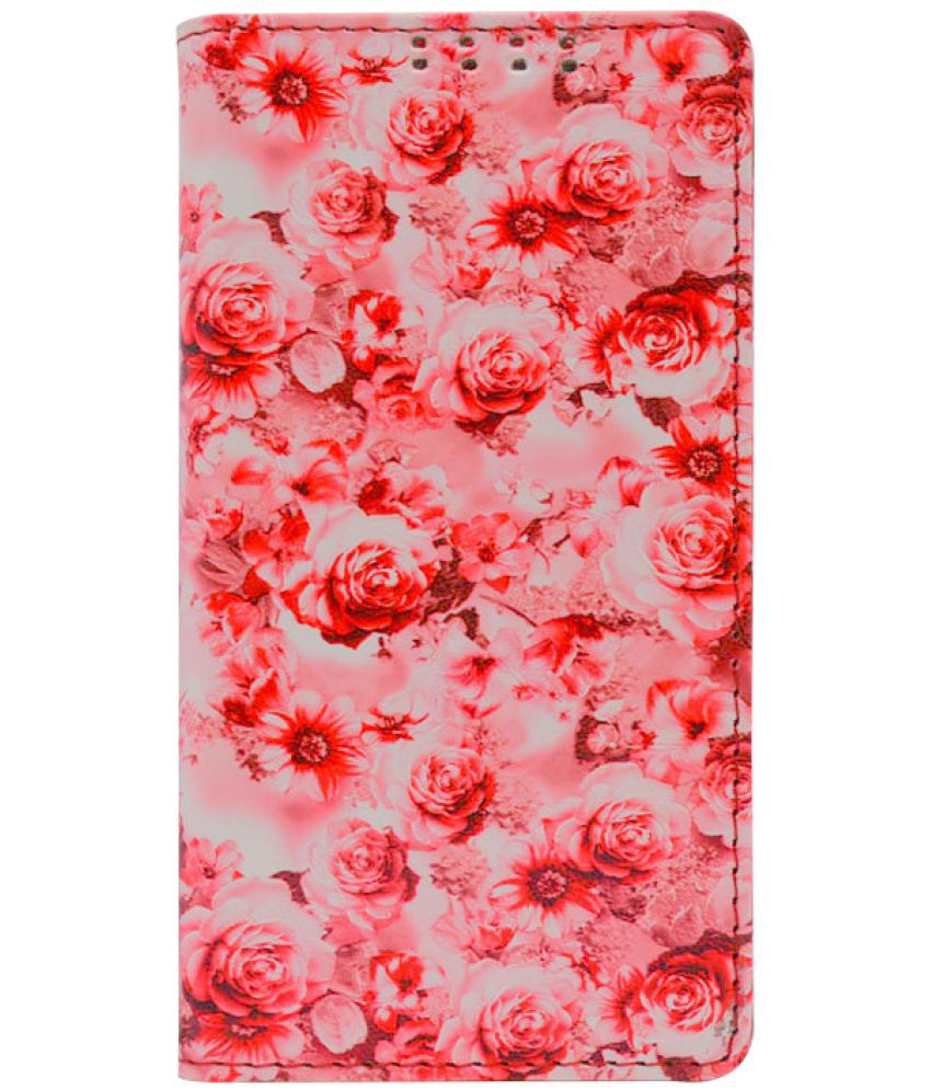 Sony Xperia T2 Flip Cover by Dsas - Pink