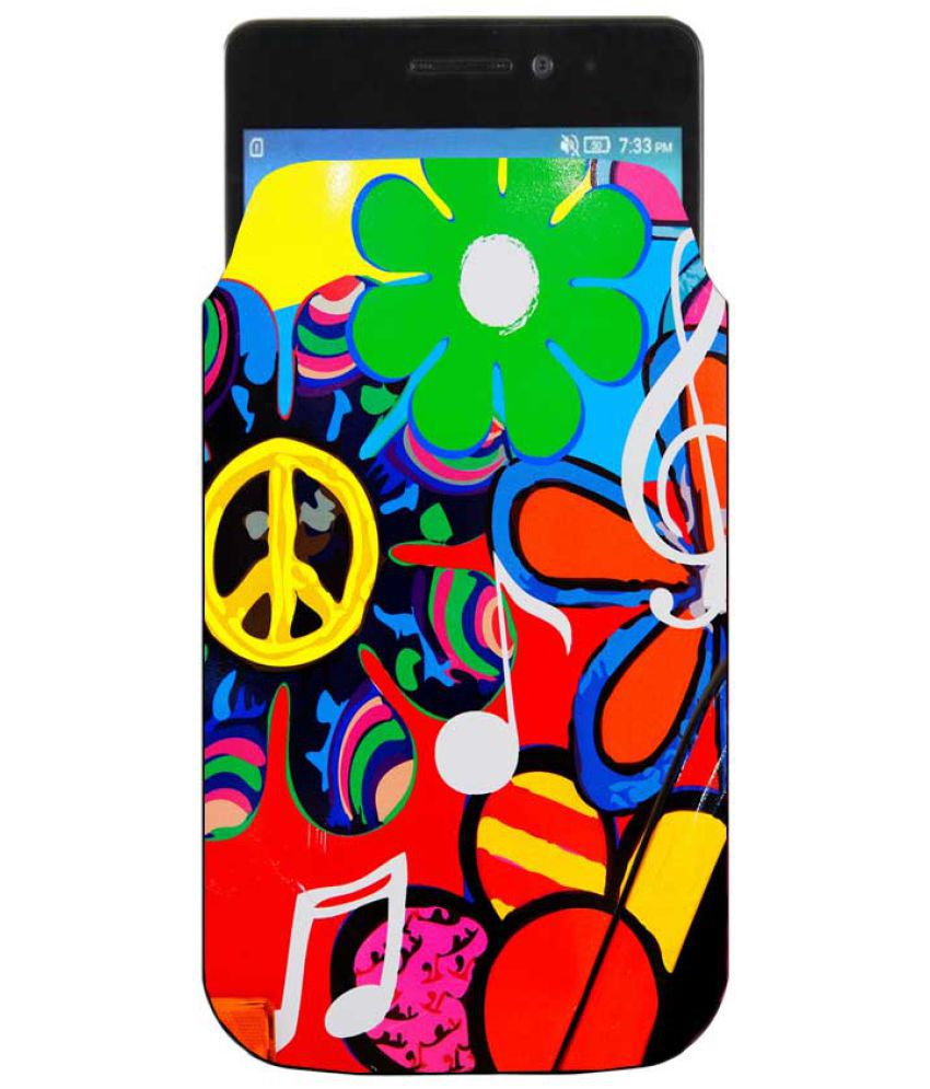 Micromax Canvas 5 Holster Cover by Youberry - Multi