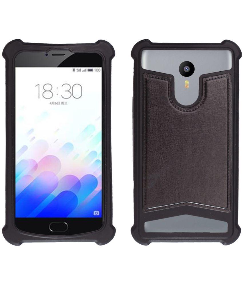timeless design e5159 3e184 Micromax Vdeo 1 Q4001 Shock Proof Case Shopme - Black