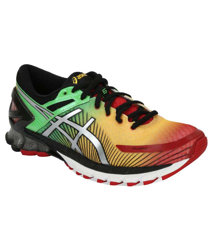 footwear wide varieties website for discount Asics GEL-KINSEI 6 Multi Color Running Shoes