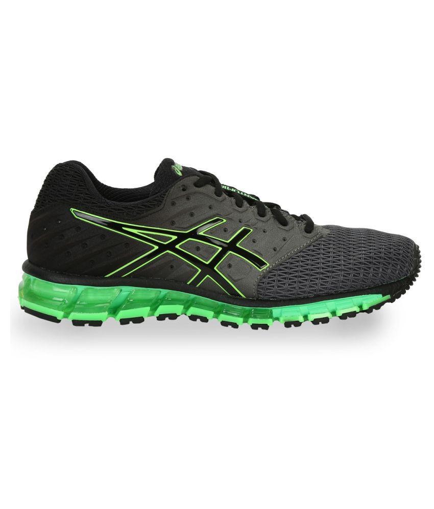 black asics shoes