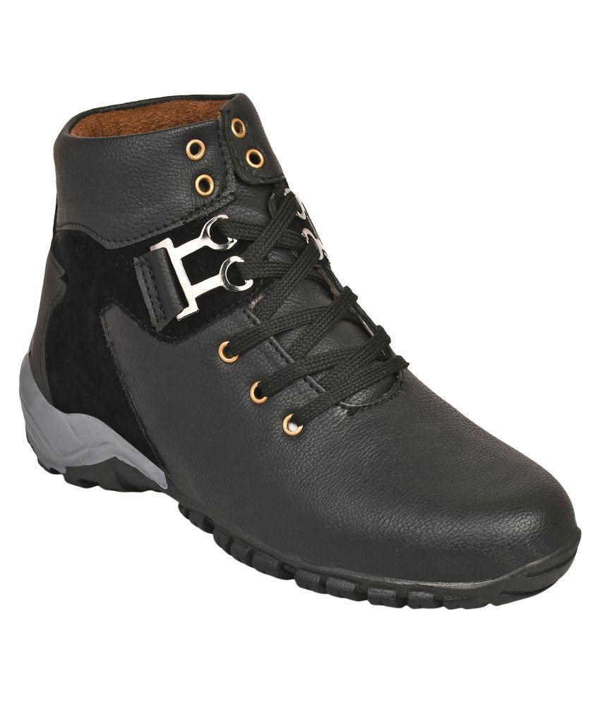 Avis Admire Black Casual Boot
