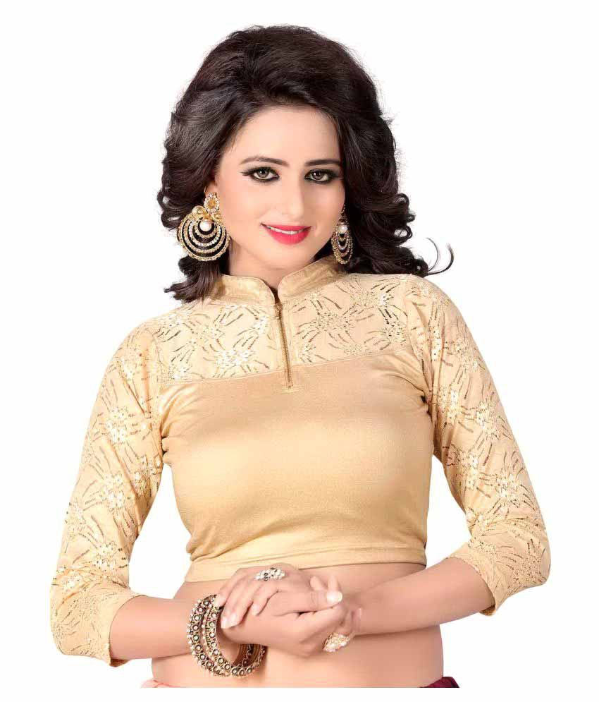 Srstudio Gold Blouse