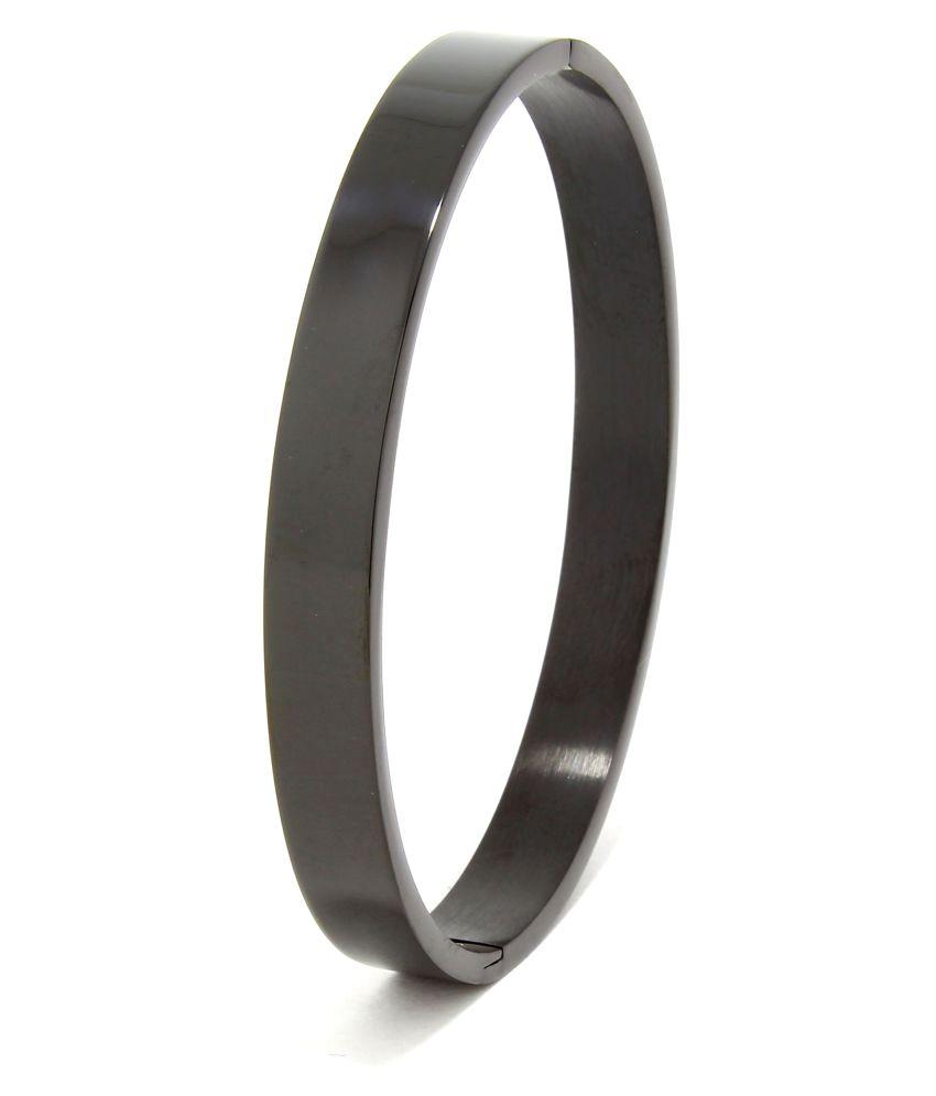 Saizen Black BR143 Series Collection Bracelet For Men