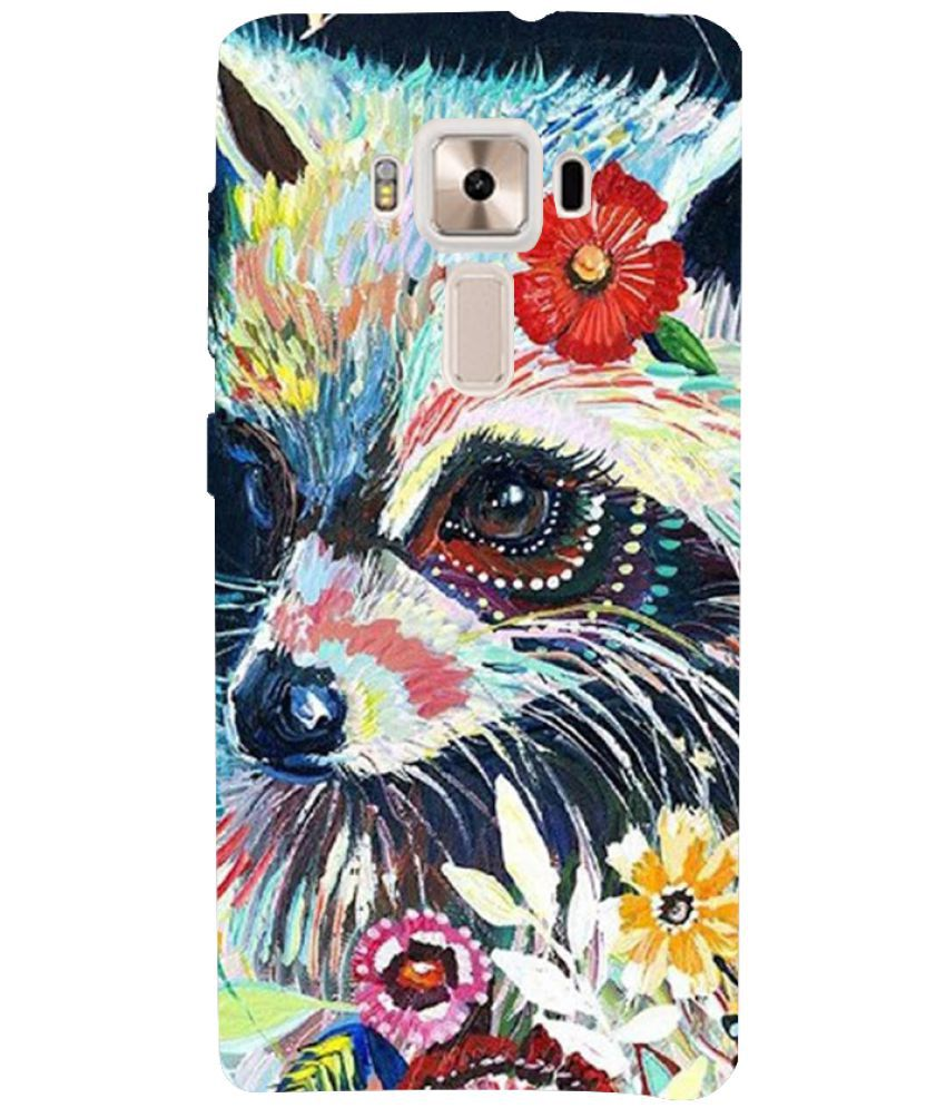 Asus Zenfone 3 Deluxe Zs570kl Printed Cover By PrintVisa