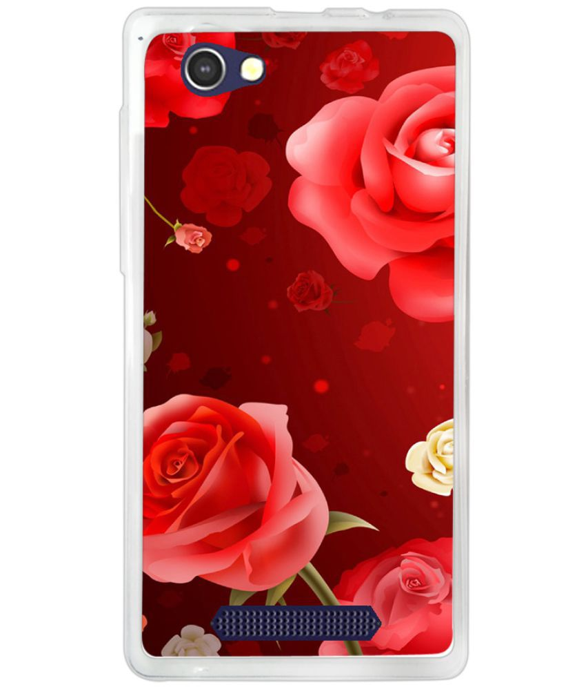 Lava A71 Printed Cover By instyler