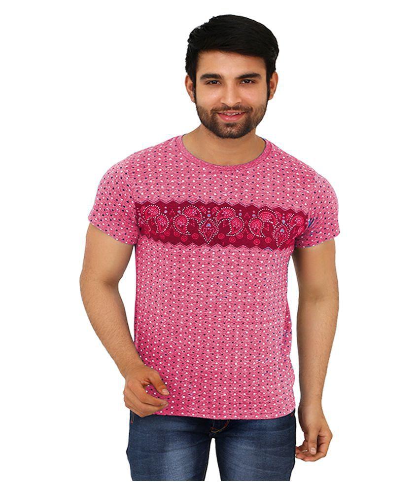 Black Unicorn Pink Cotton T-Shirt