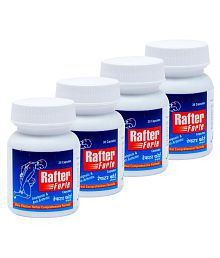 RAFTER FORTE Cap :HERBAL SUPPLEMENT FOR JOINTS 30 CAP 500MG Capsule 500 Mg Natural Pack Of 4