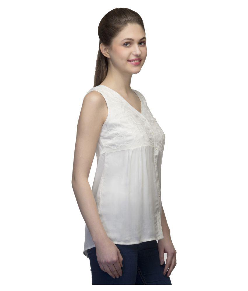 8340136c8e6 One Femme Viscose Regular Tops - Buy One Femme Viscose Regular Tops ...