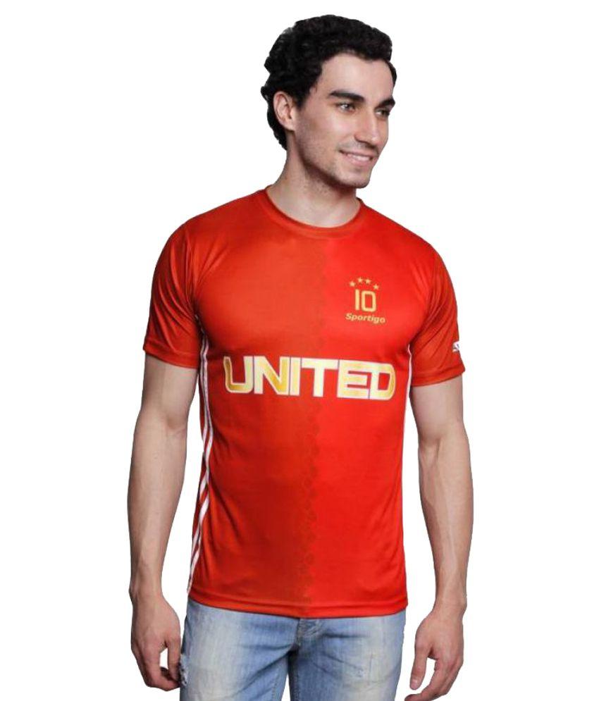 newest 59446 fa9c7 Sportigo Manchester United Number 10 Football Jersey