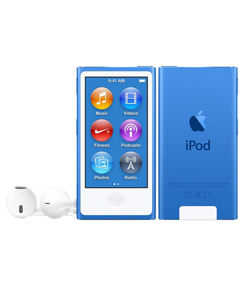 Buy Apple Nano 16 gb iPod ( Blue ) Online at Best Price in ...