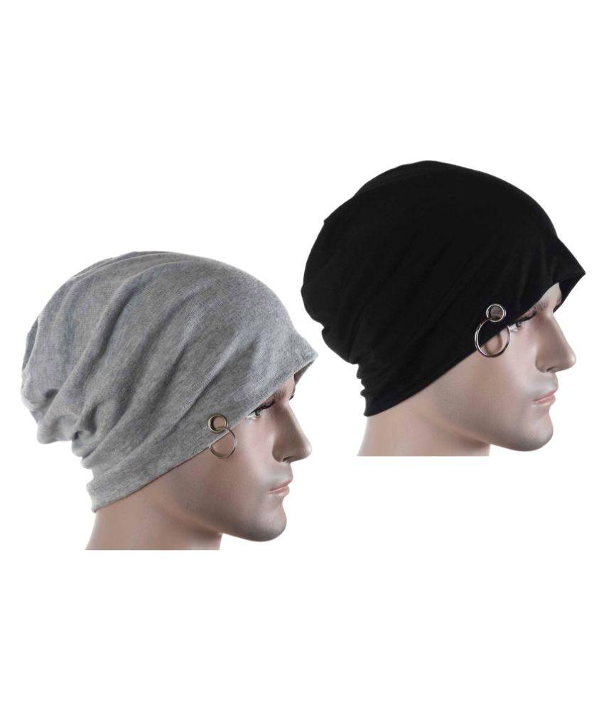Takspin Black Plain Nylon Caps